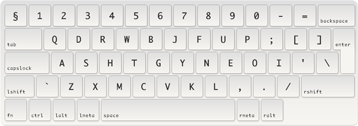 Workman keyboard layout